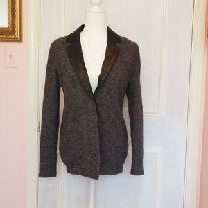 Aryn K. Grey blazer